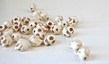 Day of the Dead 10mm Bone White Howlite Skull Beads Lot of 20 Pieces per Order