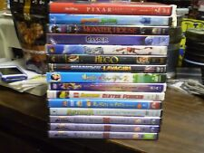 (15) Childrens Adventure DVD Lot: Disney Casper LEGO Monsters vs. Aliens Robots