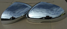 JAGUAR CHROME MIRROR COVERS FIT XF XK XJ , MC4