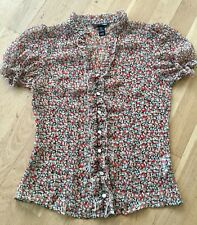 H&M floral Top Size Small eur38