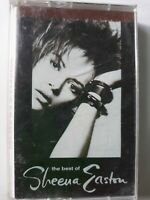 """SHEENA EASTON """"The Best of"""" OUT OF PRINT Cassette Tape HITS EX USA 1989"""