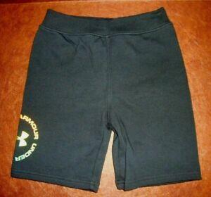 Under Armour 27G55645-01 Boys' Run Around Black Shorts - Little Kid Size 6 NWT