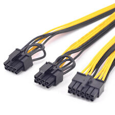 12Pin to 2 PCIe 6+2pin GPU 8Pin Power supply Cable for CORSAIR AX850 AX750 AX650