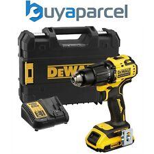 Dewalt DCD709D1T 18v XR Brushless Compact Combi Hammer Drill Tstak - 1 x 2.0ah