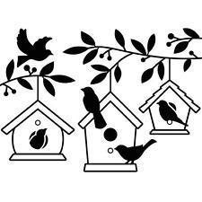"#15 Darice Embossing Folder Essentials "" Birdhouses In Tree "" 1219-402"