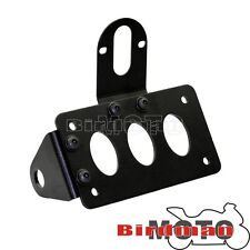 Side Mount Tail Light Holder License Plate Bracket For Harley Choppers Bobber