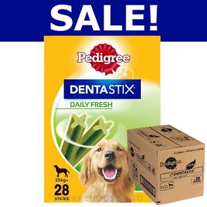 Pedigree Dentastix Fresh  Small, Med, Large, 21, 28, 84, 112 Sticks - BULK SAVE