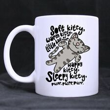Details about  Funny Cat Mug Hotstyle Soft Kitty Song Coffee Mug Tea Cup 11 Ounc
