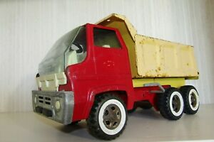 VINTAGE TONKA TOYS BIG TRUCK GRAND CAMION BENNE1974 USA