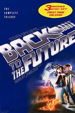 BACK TO THE FUTURE (1986) ORIGINAL MOVIE POSTER  -  DVD TRILOGY  -  ROLLED