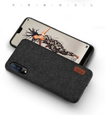 MOFi For Huawei P20 / P20 Pro Hybrid Slim Soft Case Fabric Art Splice Back Cover