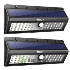 2Pack 62 LED Solar Powered PIR Motion Sensor Wall Light Outdoor Yard Garden Lamp