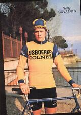 WILLY GOVAERTS Cyclisme cp 70s IJSBOERKE COLNER Cycling wielrennen carte postale