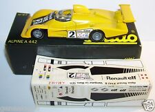 OLD SOLIDO ALPINE RENAULT A442 B TURBO 1979 LE MANS N°2 REF 87 1/43 BOX bis