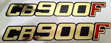 HONDA CB900F CB900 CB900FZ CB900FA CB900FB CB900FC SIDE PANEL DECALS