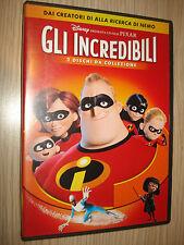 2 DOPPIO DVD GLI INCREDIBILI DISNEY PRESENTA UN FILM PIXAR DA COLLEZIONE