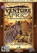 Wildlife Tycoon - Venture Africa - Win 98 - XP & MAC