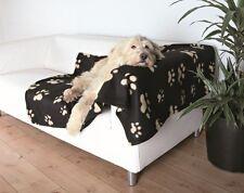 Trixie Barney Fleece Dog Blanket - 150 x 100cm(37182)black/beige