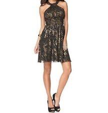 """Nine West Petite Dress Sz 8P Black Multi Color """"Glam Rocks"""" Cocktail Party Wear"""