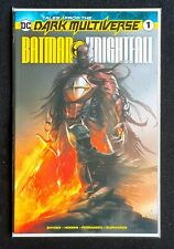 Batman Knightfall #1 Mattina trade dress limited to 3000 copies