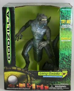 Living Godzilla Electronic Action Figure with Motorized Attack & Roar
