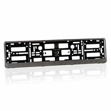 2 x Carbon Number Plate Holders Frames Licence Plate Surrounds for Any Car