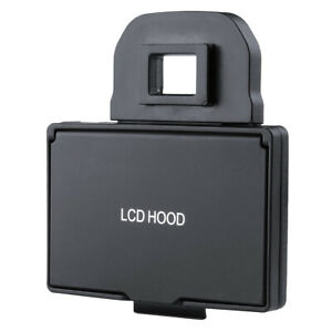 LCD Bildschirm Sonnenblende Sunhood für Canon EOS 6D Kamera/Camcorder
