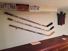 Hockey Stick Display / Mount / Hanger / Holder - Game Used, Autographed (3-PACK)