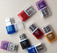 Transparent USB Memory card reader for Micro SD sdhc tf transflash Memory card