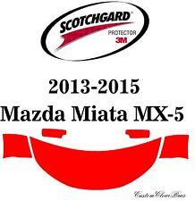 3M Scotchgard Paint Protection Film Pre-Cut Kits 2013 2014 2015 Mazda Miata MX-5