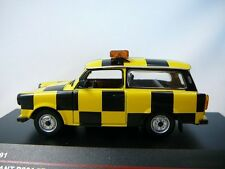 TRABANT P601S FOLLOW ME LEIZIG ALTENBURG AIRPORT ISTMODELS IST191 1/43 P 601 S