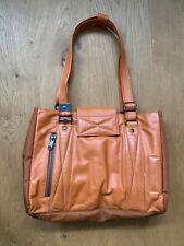 Sehr schöne Mandarina Duck Handtasche Schultertasche Leder  Orange Damen TOP