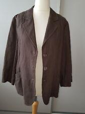 Windsmoor Khaki Linen Jacket Size 16 BNWT