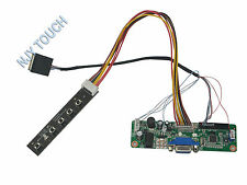 VGA LCD Controller Board LVDS Kit For ASUS Eee PC 900 901 904 B089AW01 1024x600