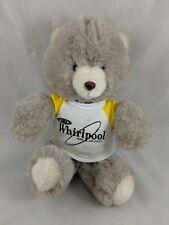 "Animal Fair Brown White Bear Frosted Plush Whirlpool Shirt 11"" Stuffed Animal"