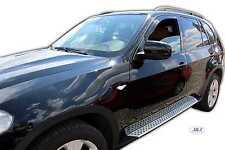 BMW X5 2007-2014 Front wind deflectors 5dr 2pc  TINTED HEKO