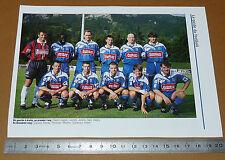 CLIPPING POSTER FOOTBALL 1999-2000 SEC BASTIA SECB FURIANI CORSICA SCB