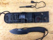 "New WithArmour Yaksha 9"" Knife Military Survival Fishing, Flint, Paracord Sheath"
