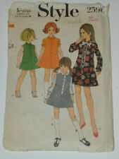 sewing pattern dress with button front
