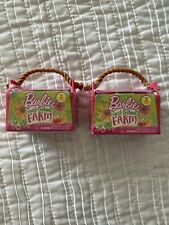 Barbie Lot Of 2 Sweet Orchard Farm. Series 1 Blind Pack. Free Shipping! Toys
