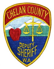CHELAN COUNTY – DEPUTY - WASHINGTON WA Sheriff Police Patch APPLE SCALE JUSTICE