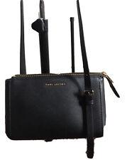 Marc Jacobs Crossbody Commuter Black Leather 100% Original