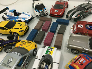 Scalextric Track Cleaning Rubbers or Model Railway OO HO Rail Track Cleaner