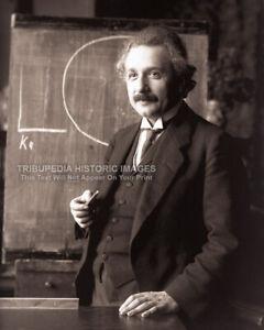1921 Albert Einstein 8x10 Photo * Theoretical Physicist Historic Genius Portrait