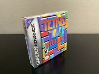 Tetris Worlds (Nintendo Game Boy Advance GBA) Box and Manuals Only NO GAME