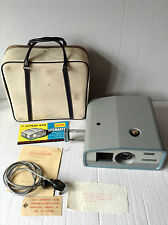 Gnome Litemaster I No. 733 1960s Slide Film Projector 35mm Vintage + Case + Bulb