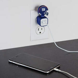 New York Giants NFL FATHEAD I-Phone IPhone Charger Champ USB Adapter Sleeve