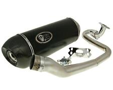 Exhaust Sport with E Characters Turbo Kit GMAX Carbon H2 4T for GY6 125 150CCM