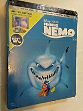 Disney Pixar Finding Nemo 4K Ultra Hd, Blu Ray & Digital Code, New Sealed 786936