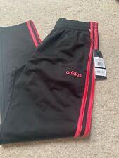 Girls Youth Adidas pants Black / Pink Size Large 14